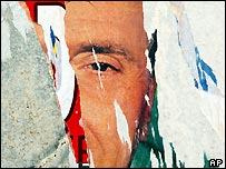 Torn Forza Italia campaign poster