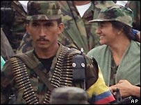 Farc fighter