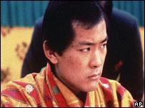 Bhutan's king Jigme Singye Wangchuk