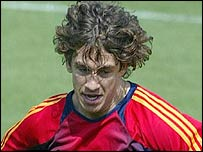Spain defender Carles Puyol