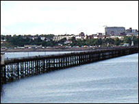 Southend Pier - before the fire