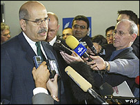 Mohamed ElBaradei, IAEA secretary general