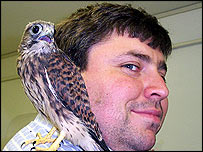 Ted Burden and Kestral