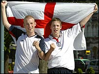 Matthew Booker from Kent and Andrew Furness from Fife