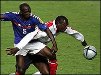 Emile Heskey and Claude Makelele