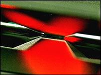 Equipo utilizado en los experimentos de teletransportación en Austria.