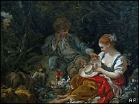 Les Jeunes Amoureux by Francois Boucher