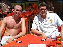 Paul Boswell and David Evans