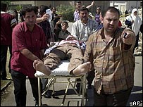 Attack on an army recruiting centre in Baghdad