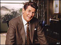James Brolin as Ronald Reagan