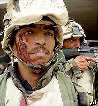 US soldiers in Iraq, April 2003