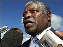 Malawian politician Brown Mpinganjira