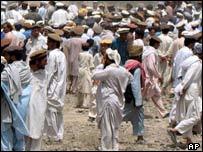 Mohammed's funeral near Wana