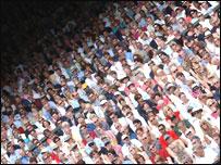 Público en Wimbledon
