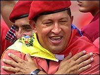 Hugo Chávez. presidente de Venezuela