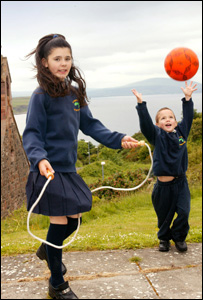The children on Rathlin will finally have somewhere to play