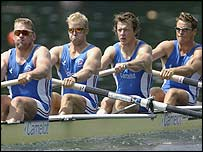 Matthew Pinsent, Alex Partridge, Steve Williams and James Cracknell will contest the coxless four