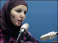 Radio Dijla presenter Shaima al-Omri