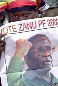 Zanu-PF supporter