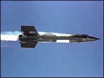 X-15, Nasa