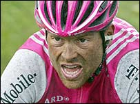 Jan Ullrich claimed a narrow victory
