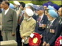 Chattri memorial service