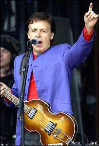 Sir Paul McCartney in St Petersburg