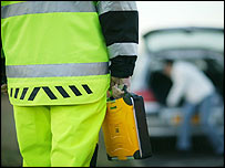AA patrol staff member