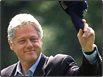 Former American president Bill Clinton