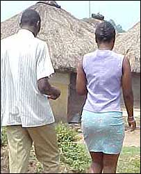 Man with Ugandan sex-worker