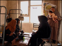 Afghan women register to vote