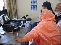 Participant in Kashmir webcast