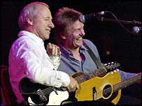 Mark Knopfler and Joe Brown