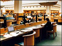 Inside the British Library