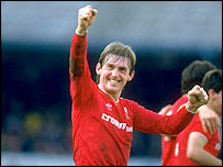 Liverpool legend Kenny Dalglish