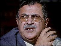 Kurdish leader Jalal Talabani