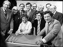 BBC newsreaders