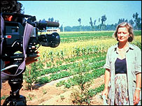 BBC correspondent Kate Adie