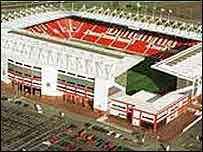 Stoke's Britannia Stadium