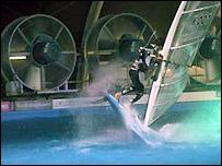 Indoor windsurfing