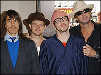 Red Hot Chili Peppers at Mojo awards