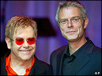 Sir Elton John and Stephen Daldry