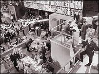 BBC TV 1966 election coverage, Cliff Michelmore