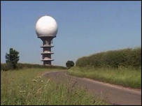 radar station at Normanby Le Wold