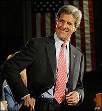 John Kerry, candidato demócrata