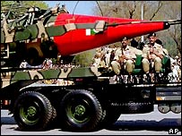 Pakistan's nuclear-capable Ghauri missile