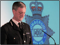Humberside Police Chief Constable, David Westwood
