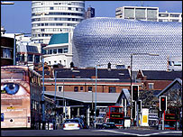 Selfridges and the Rotunda