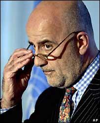 The United Nations' special representative for Western Sahara, Alvaro de Soto