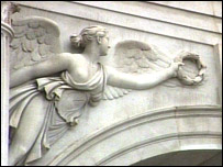 Detail on Marble Arch